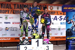 ossa ladies podium