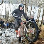 Michael Brown At Loch Arkaig Day 2 2013 Scottish Six Days Trial