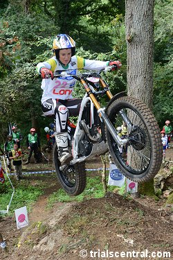 Brooke Lonie - Australia At 2013 FIM Womens Trial des Nations