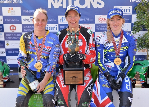 2015 ladies trial des nations