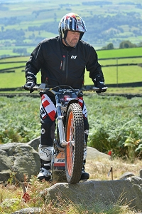 Dominic Coleman At 2014 Dougie Lampkin Trials School 18