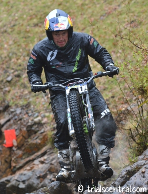 Dougie Lampkin At Witches Burn Day 2 2015 Scottish Six Days Trial