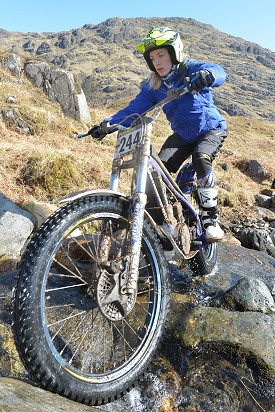 Emma Bristow At Doire Dhamh Day 5 2015 Scottish Six Days Trial