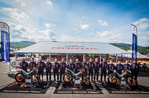 repsol honda montesa trial team 2016