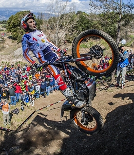 toni bou repsol honda spain day two
