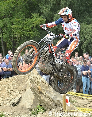 toni bou uk world trial day 2 story