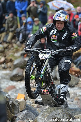 Dougie Lampkin At Lagnaha Day 1 2016 Scottish Six Days Trial