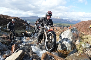 James Johnson At Fersit Day 4 2016 Scottish Six Days Trial