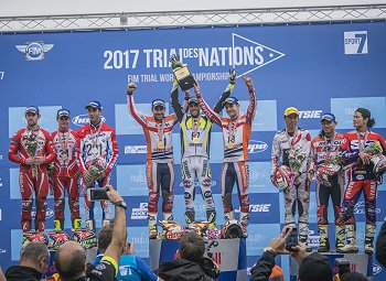 2017 trial des nations podium
