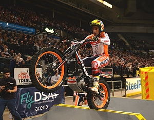 toni bou sheffield indoor trial 2018