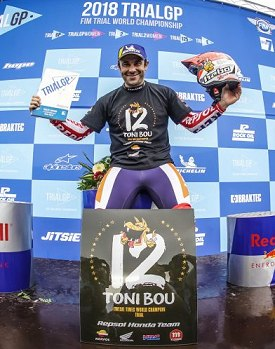 toni bou twelfth outdoor trial title