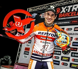 toni bou 12 times indoor trial champion
